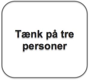 Tekstboks_Tænk paa tre personer